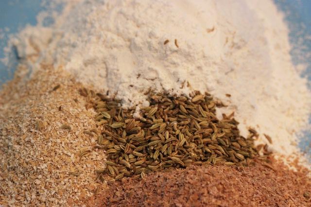 grains w flour