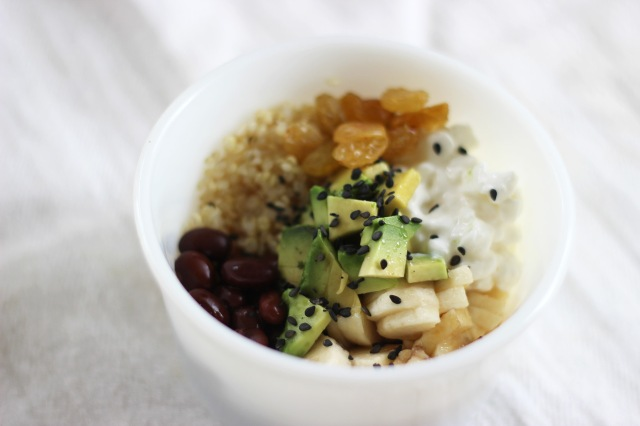 quinoa bowl_close up