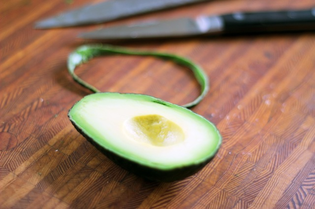 sliced avocado